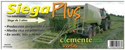 Etiqueta Siega Plus de Clemente Viven