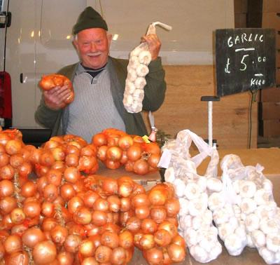 Venta de cebollas
