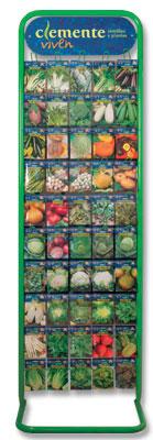Expositor de hortícolas de Clemente Viven