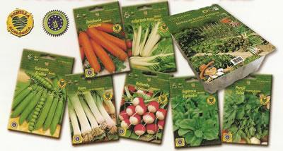 sobres de semillas